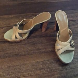 Sandals. Heels. Tahari